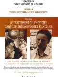 N°108 (09/2010) Traitement de l'histoire dans les documentaires filmiques