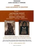 n°104 (09/2009) L'Antifascisme revisité. Histoire, Idéologie, Mémoire