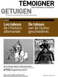 N°113 (09/2012) Les tabous de l'histoire allemande