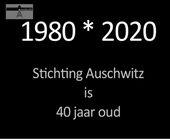 40 jaar stichting auschwitz