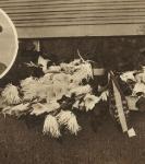 """Na """"hun"""" vertrek. In het hol van de Gestapo (Soir illustré van 27 september 1944)"""